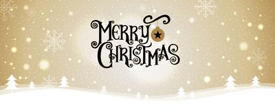 Buon Natale Nuovo anno felice Illustrazione di vettore iscrizione Fotografie Stock