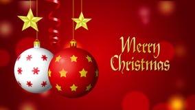 Sfondi Natalizi 4k.Oro Di Buon Natale E Ciclo Rosso 4k Archivi Video Video Di