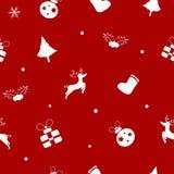 Buon Natale, regalo, vacanza invernale, buon anno, senza cuciture illustrazione vettoriale