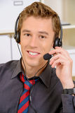 Buon operatore Immagine Stock