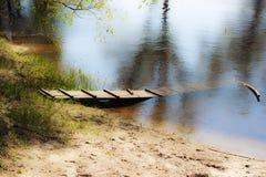 Buon resto sull'acqua pesca Bagno fotografie stock libere da diritti