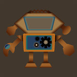 Buon robot Fotografia Stock