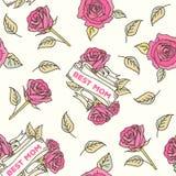 Buona Festa della Mamma carta d'annata royalty illustrazione gratis