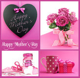 Buona Festa della Mamma collage immagini stock libere da diritti