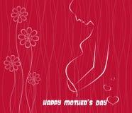 Buona Festa della Mamma illustrazione di vettore di celebrazione illustrazione vettoriale