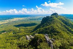 Buona montagna di vista immagine stock