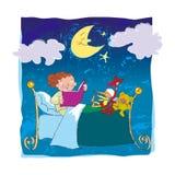 Buona notte amici Fotografie Stock