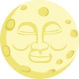 Buona notte luna Immagine Stock Libera da Diritti