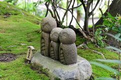 Buona partita Jizo. Immagini Stock Libere da Diritti