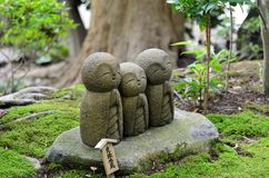 Buona partita Jizo. Fotografie Stock