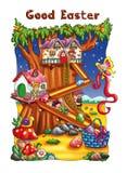 Buona Pasqua illustrazione di stock