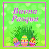 Buona Pasqua illustration. Stock Photography