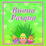 Buona Pasqua illustration. Vector. Royalty Free Stock Images