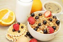 Buona prima colazione Immagini Stock Libere da Diritti