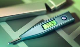 Buona temperatura illustrazione di stock