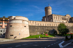 Buonconsiglio Castle. Historical Trento, Italy royalty free stock images
