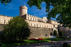 Buonconsiglio Castle. Historical Trento, Italy Stock Photo