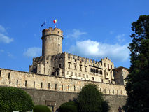 Buonconsiglio castle and museum in Trento Royalty Free Stock Photos