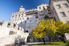 Buonconsiglio castle and museum in Trento Royalty Free Stock Photo