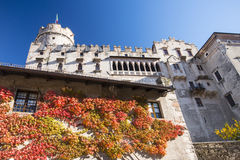Buonconsiglio castle and museum in Trento Stock Images