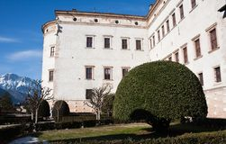 Buonconsiglio Castle , Trento, Italy Royalty Free Stock Photo