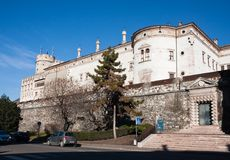 buonconsiglio grodowy Italy trento obrazy royalty free