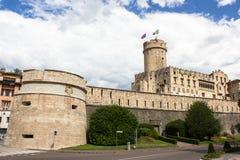 Buonconsiglio Schloss stockbilder