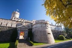 Buonconsigliokasteel en museum in Trento Stock Foto