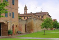 Buonconvento Royalty Free Stock Photo