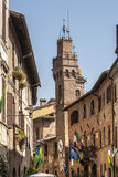 Buonconvento (Siena, Tuscany) Royalty Free Stock Photography