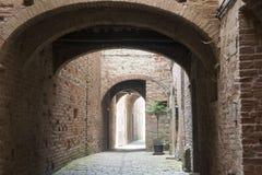 Buonconvento (Toscânia, Itália) Fotos de Stock