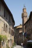 Buonconvento, Tuscany Obraz Stock