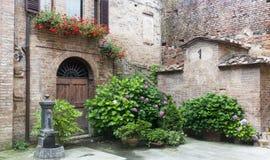 Buonconvento (Tuscany, Italy) Royalty Free Stock Photos