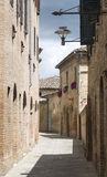 Buonconvento (Tuscany, Italy) Royalty Free Stock Photos