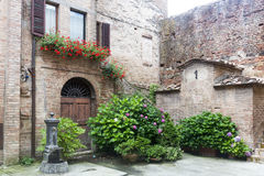 Buonconvento (Tuscany, Italy) Royalty Free Stock Photo