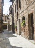 Buonconvento (Tuscany, Italy) Royalty Free Stock Images
