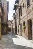 Buonconvento Tuscany, Włochy (,) zdjęcie royalty free