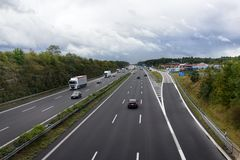 Buone strade standard tedesche Immagini Stock