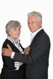 Buone vecchie coppie Fotografia Stock Libera da Diritti