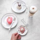 Buongiorno e prima colazione saporita Immagine Stock