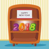 2018 buoni anni Fotografie Stock