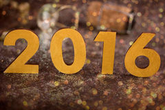 2016 buoni anni Immagine Stock Libera da Diritti