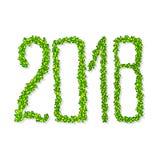 2018 buoni anni Illustrazione di Stock
