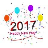 2017 buoni anni jpg illustrazione vettoriale