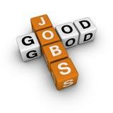 Buoni job Immagini Stock