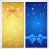 Buono, buono, buono regalo, carta di regalo. Stella Immagini Stock