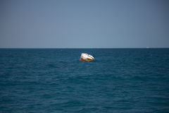 Buoy at Caribbean Sea Royalty Free Stock Photo