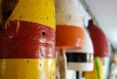 Buoy collection. Stock Photography