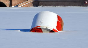 Buoy of cruiser Aurora Royalty Free Stock Image