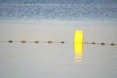 Buoy in the dead sea region Royalty Free Stock Photos